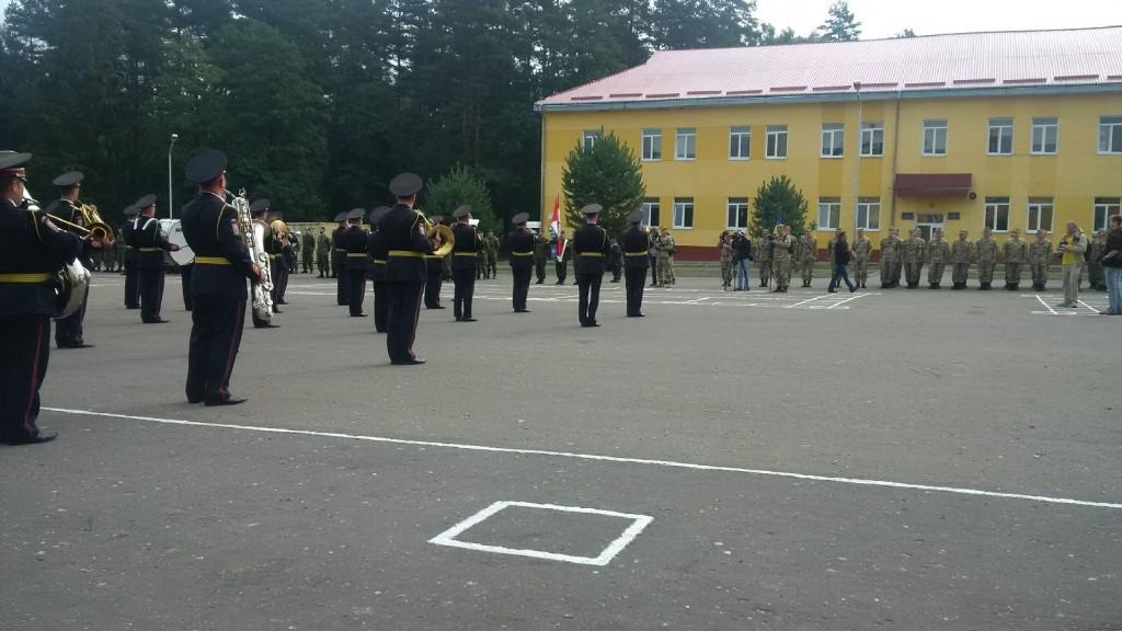 CDN Armed forces training in Ukraine (15 Sep 2015)