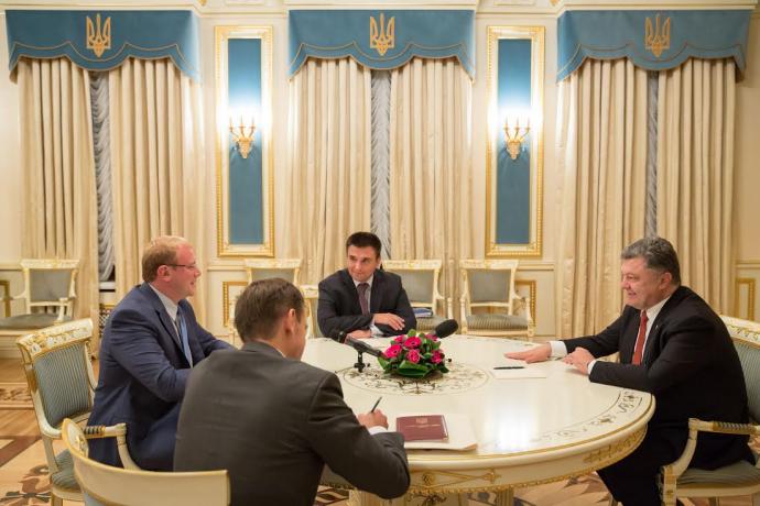 President Poroshenko Andriy Shevchenko