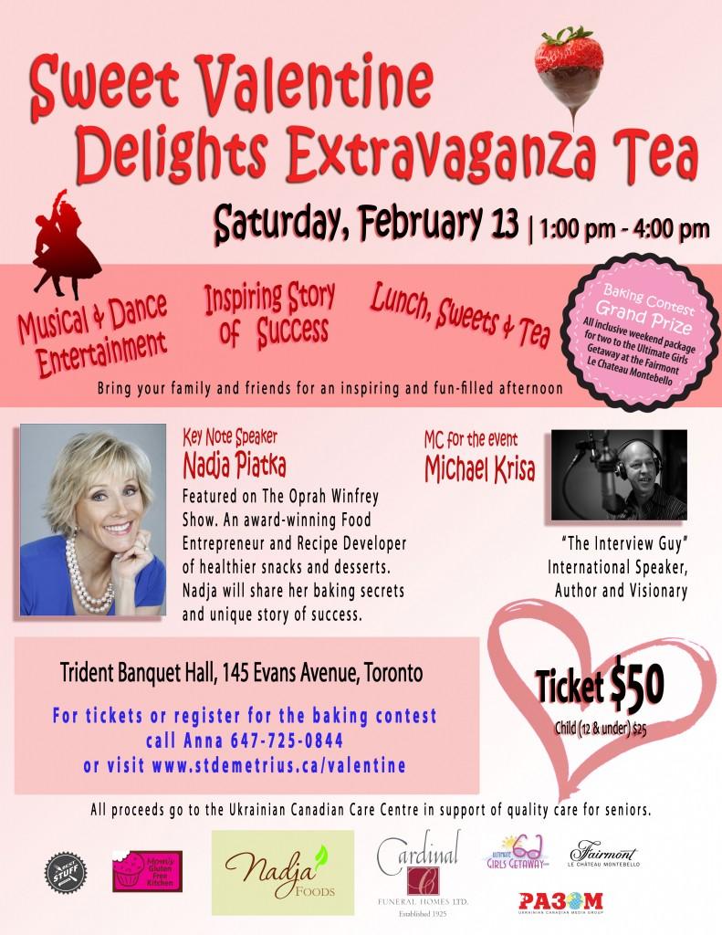 Sweet Valentine Delights Extravaganza Tea @ Trident Banquet Hall | Toronto | Ontario | Canada