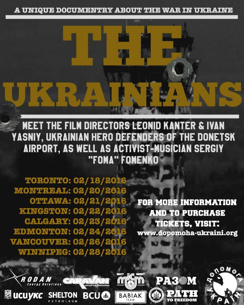"""The Ukrainians"" - A unique Documentary about the War in Ukraine [TORONTO] @ Bloor Hot Docs Cinema,  | Toronto | Ontario | Canada"
