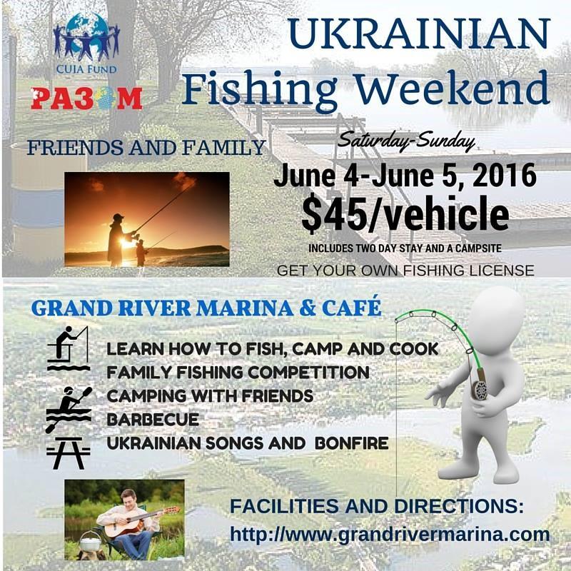 Ukrainian Fishing Weekend @ Grand River Marina and Cafe | Ontario | Canada