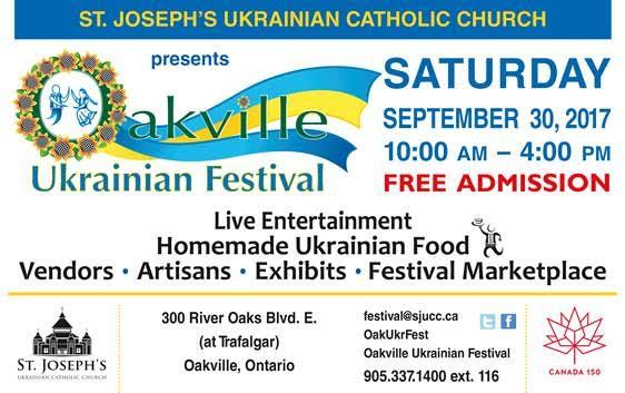Oakville Ukrainian Festival @ St Joseph's Ukrainian Catholic Church | Oakville | Ontario | Canada